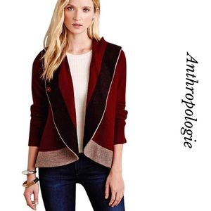 ANTHRO ROSIE NEIRA COLORBLOCK BOILED JACKET
